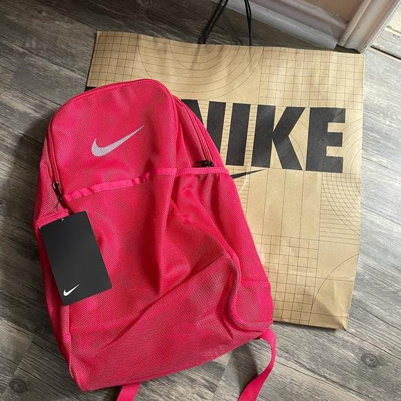 Nike mesh book bag